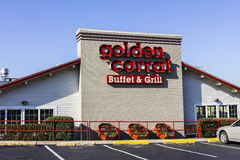Kokomo - Circa November 2016: Golden Corral Buffet and Grill. Golden Corral serves many free meals to military veterans II Royalty Free Stock Photography