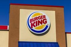 Kokomo - circa noviembre de 2016: Ubicación de Burger King Retail Fast Food Cada día, más de 11 millones de huéspedes visitan Bur Fotos de archivo libres de regalías