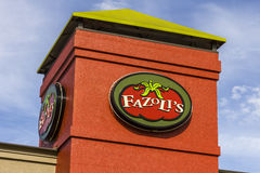 Kokomo - Circa October 2016: Fazoli's dining location. Fazoli's is an Italian fast casual restaurant chain III Royalty Free Stock Photography