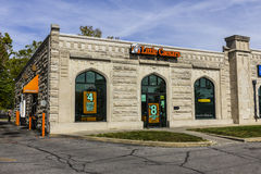 Kokomo - Circa October 2016: Little Caesars Pizza Franchise. Little Caesars is a Carry-Out Chain Featuring Pizza and Wings I Stock Images