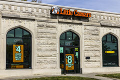 Kokomo - Circa October 2016: Little Caesars Pizza Franchise. Little Caesars is a Carry-Out Chain Featuring Pizza and Wings II Stock Image
