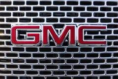 Kokomo - Circa September 2017: De Vrachtwagen van GMC en Buick-en SUV-het handel drijven GMC en Buick zijn afdelingen van GM I Stock Foto