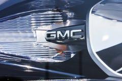 Kokomo - Circa September 2017: De Vrachtwagen van GMC en Buick-en SUV-het handel drijven GMC en Buick zijn afdelingen van GM IV Royalty-vrije Stock Foto's