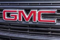 Kokomo - Circa September 2017: De Vrachtwagen van GMC en Buick-en SUV-het handel drijven GMC en Buick zijn afdelingen van GM VII Royalty-vrije Stock Fotografie