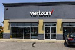 Kokomo - circa septiembre de 2017: Ubicación de la venta al por menor de Verizon Wireless Verizon es el U más grande S proveedor  Fotografía de archivo