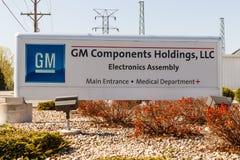 Kokomo - Około Maj 2018: GM składników mienia GMCH jest dostawcą fabrykuje usługa wiodące elektronika Ja Zdjęcie Stock