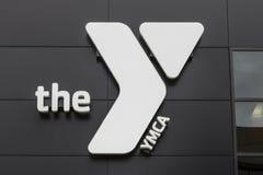 Kokomo - vers en avril 2017 : YMCA du centre Le YMCA fonctionne pour apporter la justice sociale les jeunes et en leurs communaut Images libres de droits