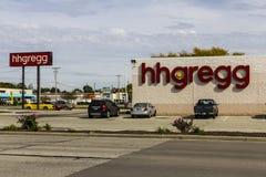 Kokomo - vers en octobre 2016 : emplacement de hhgregg le hhgregg est un détaillant d'électronique grand public et d'appareils mé Photos stock