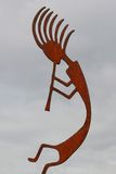 Kokopelli Stockbild