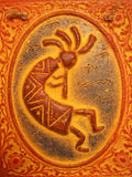 Kokopelli. Native american god of music and fertility Royalty Free Stock Photography