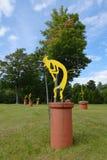 Kokopelli rzeźba Obraz Stock