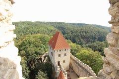 Kokorin Castle, Δημοκρατία της Τσεχίας Στοκ φωτογραφία με δικαίωμα ελεύθερης χρήσης