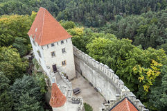 Kokorin castle. Stock Photography