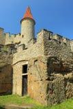 Kokorin castle tower Royalty Free Stock Photos