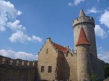 Kokorin médiéval historique de château dans la République Tchèque photo libre de droits