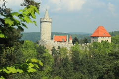 Kokorin slott Royaltyfria Foton
