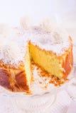Kokos quark cake Stock Image