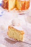 Kokos quark cake Stock Images
