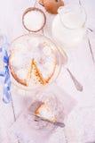 Kokos quark cake Royalty Free Stock Image