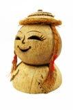kokosnötflicka Royaltyfri Bild