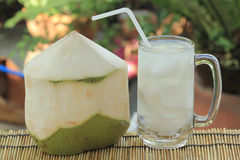 Kokosnötfruktsaft Royaltyfria Bilder