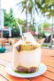 Kokosnötfruktsaft Royaltyfri Fotografi