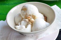 Kokosnötglass Arkivfoto