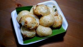 Kokosnötpudding Kanom Krok Arkivfoton