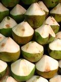 kokosnötstapel Royaltyfri Foto