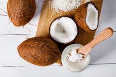 kokosnötter Royaltyfri Fotografi