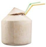 Kokosnötvatten royaltyfri bild