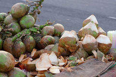 Kokosnüsse Stockfotografie