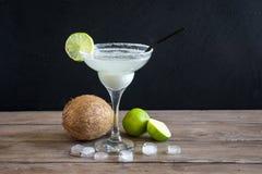 Kokosnoot Margarita Cocktail royalty-vrije stock foto's