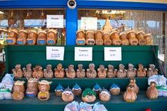 Kokosnotenambachten Stock Foto