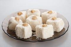 Kokosnotencakes stock foto