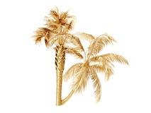 Kokosnotenpalmen het 3d teruggeven Stock Foto's