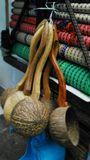 Kokosnotenshell laddle Royalty-vrije Stock Afbeelding