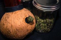 Kokosnuss Bong Lizenzfreies Stockbild
