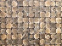 Kokosnuss-Fliesen-Beschaffenheit stockbild