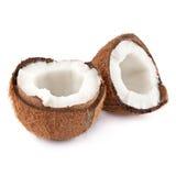Kokosnuss halb Lizenzfreie Stockfotografie