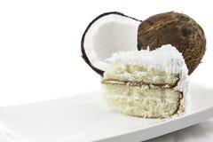 Kokosnuss-Kuchen Stockfotografie