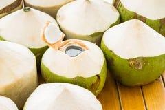 Kokosnuss-Wasser-Getränk Lizenzfreies Stockfoto