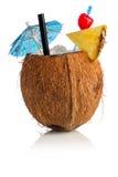 Kokosnusscocktail Lizenzfreie Stockbilder