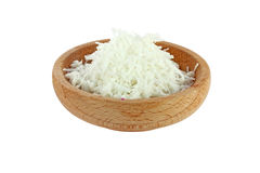Kokosnussmahlzeit Stockfoto