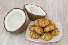 Kokosnussplätzchen Lizenzfreies Stockfoto