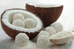 Kokosnusssüßigkeit stockbilder