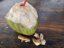 Kokosnusswasser Stockbild