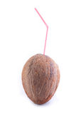kokosowa słoma Obrazy Royalty Free