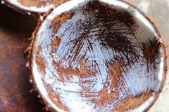 Kokosowa skorupa Obraz Stock