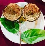Kokosowa skorupa Zdjęcie Stock